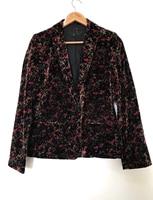 Fashion Autumn Multico Printing Floral V Neck Lady Jacket with One Button Women Coat Autumn Jacket Women