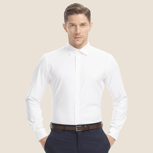 Smart Five chemise homme Summer 100% Cotton Long Sleeve Mens Dress Shirt Brand Slim white men's clothing SFL4A15