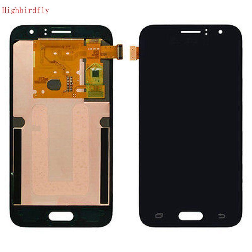 Para Samsung Galaxy J1 2016 J120 J120F J120H J120M Screen Display Lcd + de Toque de Vidro Digitador Assembléia conjunto completo Amoled
