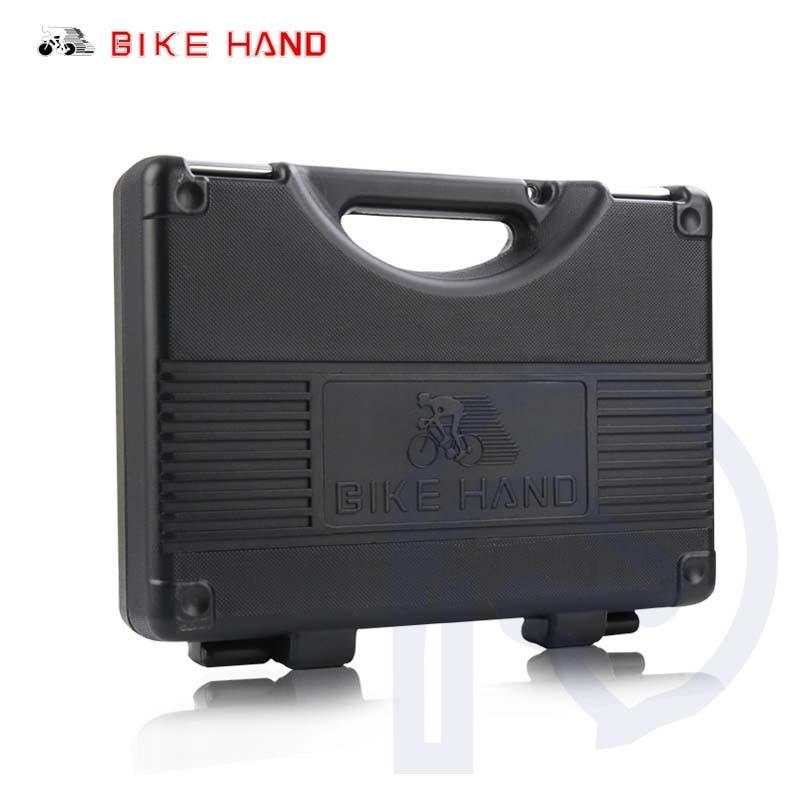 18 in 1 Strumenti di Riparazione di Biciclette Kit Box Set Multiuso MTB Pneumatico Catena di Strumenti di Riparazione Spoke Wrench Kit Hex Cacciavite utensili per biciclette - 3