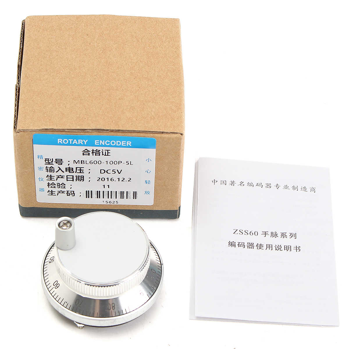 Hand wheel Handrad Pulse Encoder 100PPR CNC Mill Router Control For CNC System B