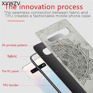 Image 3 - Voor Samsung Galaxy S10 Plus Case Soft TPU Siliconen Doek Textuur Hard PC Case Voor Samsung S10 Plus Cover Voor samsung S10 Plus