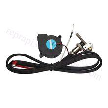 ANYCUBIC 3d Yazıcı 4max 12 v 1.75mm/0.4mm Meme Extruder Hotend Kiti w/Boğaz Hızlı Bağlantı ısıtma Tüpü Soğutma Fanı Termistör