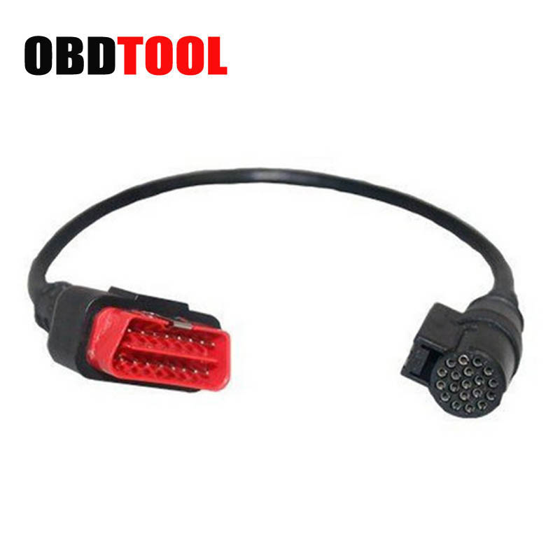 OBD 2 16PIN Cable For Renault Can Clip Car Diagnostic Scanner OBD2 16 Pin Main Cable For Renault Fault Diagnosis Instrument JC10