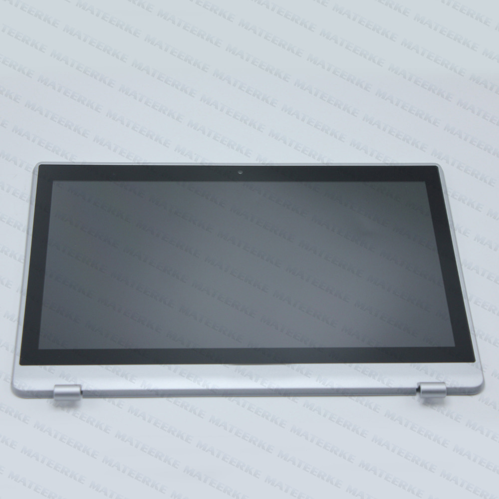 11.6 Laptop Touch Panel + LCD LED Screen Assembly + Front Bezel for Acer Aspire V5-122P MS2377 11 6 lcd assembly for acer aspire v5 122p v5 132p ms2377 lcd display touch screen digitizer with frame display panel