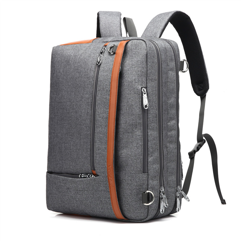 Coolbell 17.3 inch Laptop Backpack Men Business Briefcase Handbag Casual Travel Multifunction Daypack 2017 Stylish School Bag brand coolbell for macbook pro 15 6 inch laptop business causal backpack travel bag school backpack