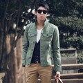 Frete grátis nova primavera 2017 moda 8 cores casacos clothing ao ar livre dos homens dos homens slim fit casuais jaqueta jeans fino/jk27