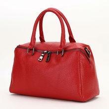 2016 Fashion Style luxury Genuine Leather Women Handbag Shoulder Messenger Bag Large Capacity Totes Bags Famous Brand  Herald