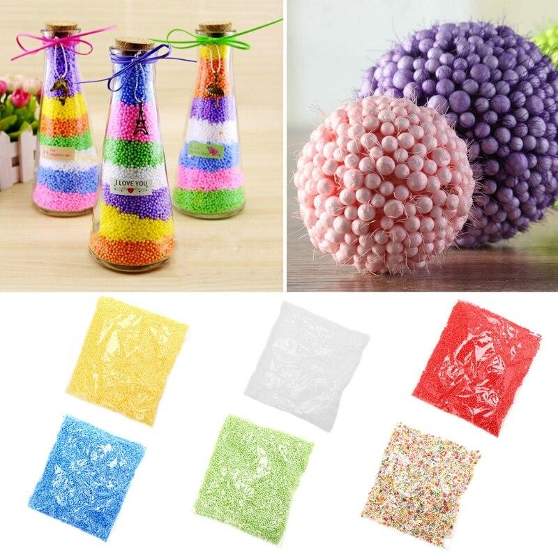 1Pack 2-4mm Foam Balls Decorative Styrofoam Ball DIY Wedding/Party Kids Children