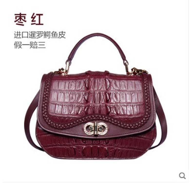 Pour En De Des À A2 Dames Véritable Cuir a1 Importés Main Yuanyu Crocodile Nouveau a3 Sac Femmes Bfq8I