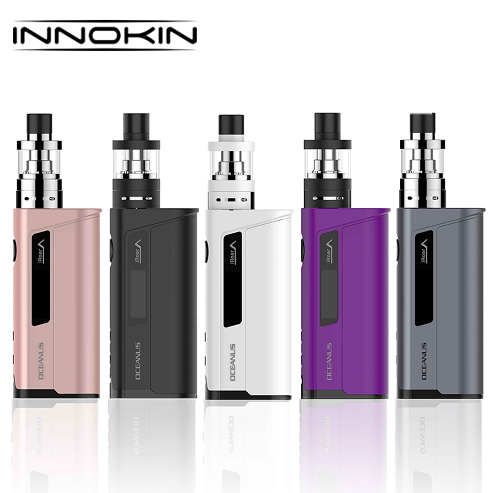 Hot Original 110W Innokin OCEANUS ISub VE VW Kit with 2ml ISub VE Tank & 20700 Battery 3000mAh Electronic Cigarette Vape Kit original ijoy saber 100 20700 vw kit max 100w saber 100 kit with diamond subohm tank 5 5ml