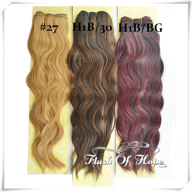 3 Packslot Ombre Two Tones Blonde Colors Brazilian Natural Loose