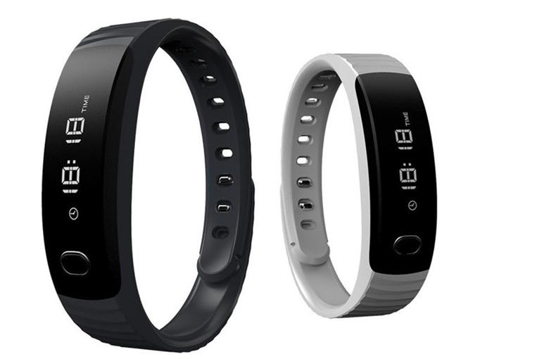 Black and white H8 Smart Bracelet