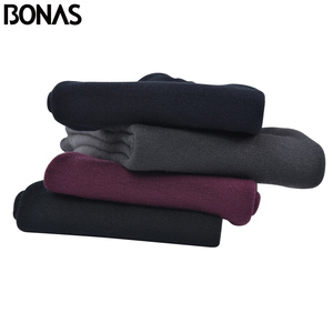 Image 3 - BONAS 2Pcs Women Big Size Warm Leggings Fitness Soft Black Color Leggins Female Velvet Leggings Elasticity Warm Winter Legging