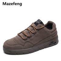 Mazefeng 2018 Fashion Spring Autumn Shoes Male Lace-up Men Cansual Shoes Hard-Wearing Height Increasing Men Shoes Air Cushion