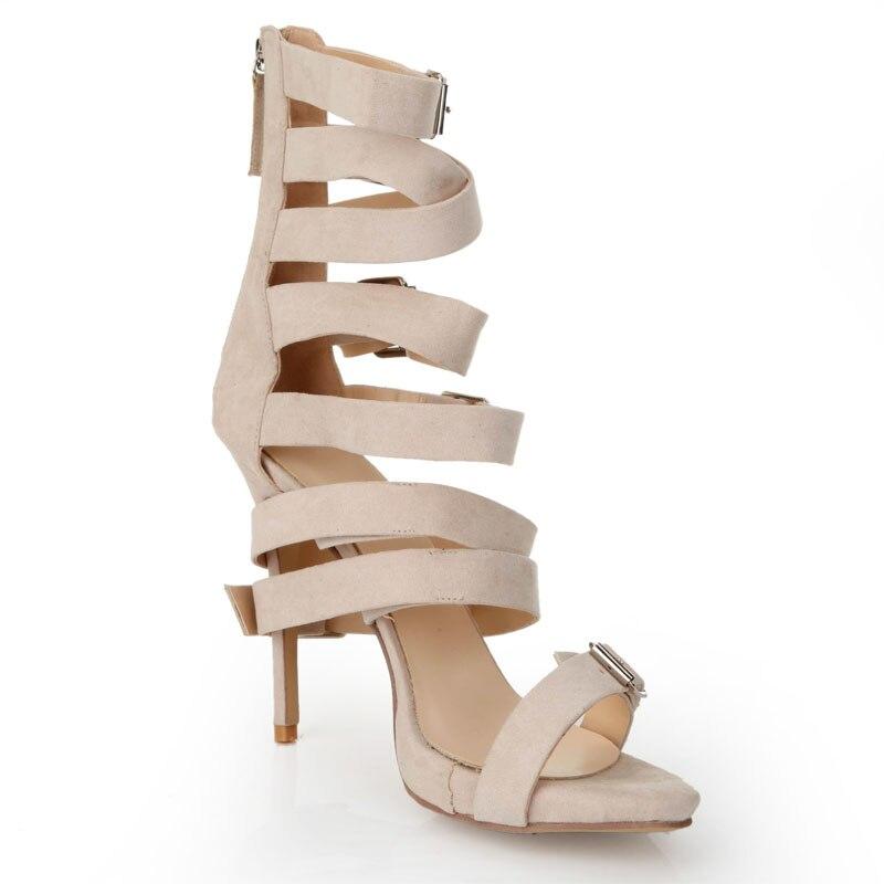 Tamaño Tacón Zapatos Cremallera De Color Dorado Mujer Gold Charol qGUVpzMS