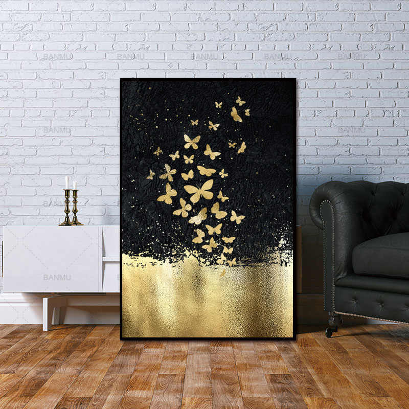 Framed Modern abstract series Painting Canvas Wall Art Picture Home Decoration Living Room Canvas Print Modern Painting ART5854