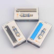 รัสเซียd ropshippingบุหรี่อิเล็กทรอนิกส์vape Bgoชุดvaporizer 0.5ohm 2200มิลลิแอมป์ชั่วโมงแบตเตอรี่ซิปC Arry Case VS eleaf istick s