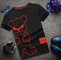 Бесплатная доставка Большой размер мужской летней одежды с коротким рукавом футболку о-образным шеи майка большой короткий рукав рубашки 2xl-8xl бюст 155 см