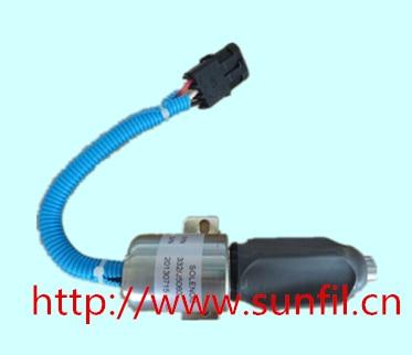все цены на NEW JCB JS130 JS180 STOPPER MOTOR JCB 332/J5060 Stop solenoid, 24 V