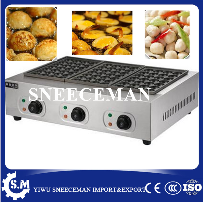 Electric fish ball Grill machine stainless steel pan cooker making machine automatic takoyaki machine takoyaki-grill household takoyaki meatball maker grill plate 18 small takoyaki machine non stick electric grill pan cooker with 18 molds