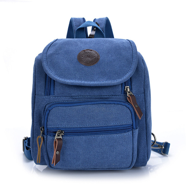 women Canvas backpacks school bags fashion backpacks for teenage girls  retro Outdoor climbing bags small size Factory wholesale 6d8224b8010c3