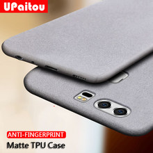 UPaitou Case for Huawei P30 P20 Pro P9 P10 Plus P8 Lite 2017 Anti Fingerprint Case Soft Silicone Matte TPU for P30Lite Cover(China)