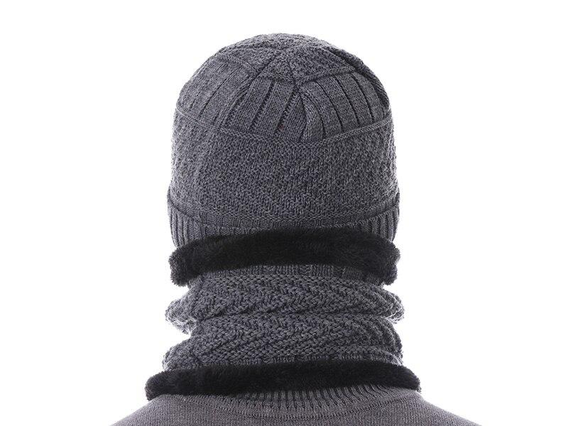 قبعات مع وشاح للرجال 3