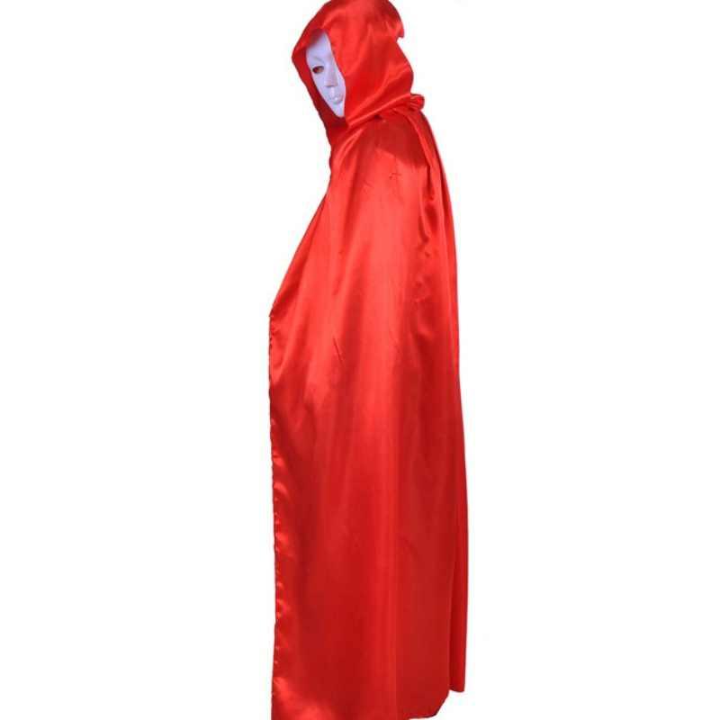 ערפד ברדס גלימת מימי הביניים מכשפה גלימת קייפ מקיר לקיר-אורך ליל כל הקדושים תלבושות יוניסקס חדש