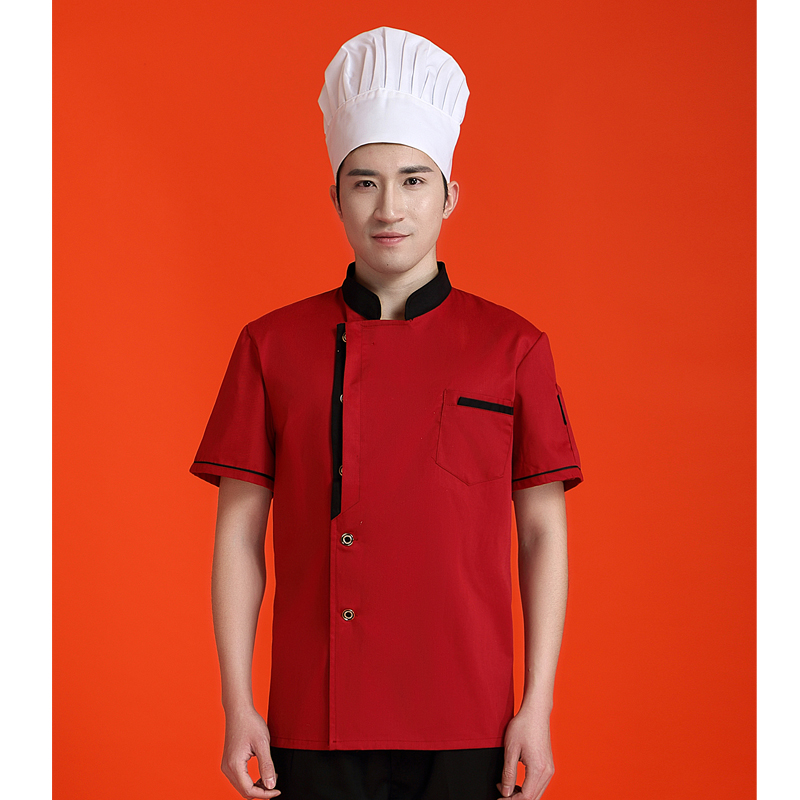 Chef Jacket Clothes Western Restaurant Hotel Uniform Kitchen Hotel Chef With Apron