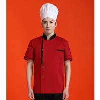Chef Jacket Clothes Western Restaurant Hotel Uniform Kitchen Hotel Chef with Apron
