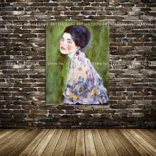 high quality hand painted colorful woman painting on canvas home decor Wall art home decoration for living room bedroom artwork