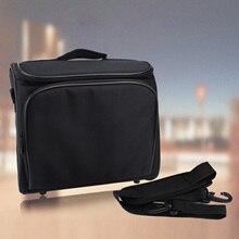SUNNYLIFE 30x26x11cm Antigraffio Antiurto Bagagli Carry Bag Sacchetto di Caso per Epson Panasonic BenQ Sharp Optoma NEC acer Proiettore
