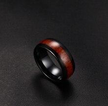 Fashion Rings Wood Design
