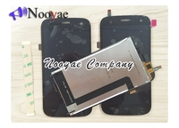 Novaphopat Black X tremer sensor For Explay X Tremer LCD Display +Touch Screen Digitizer Screen Assembly +3M sticker