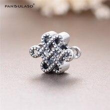 Signo de La Paz chino Beads Fit Pandora Charms Pulsera Plata 925 Original 2016 Nuevo DIY Granos de Plata Del Encanto para La Joyería Que Hace