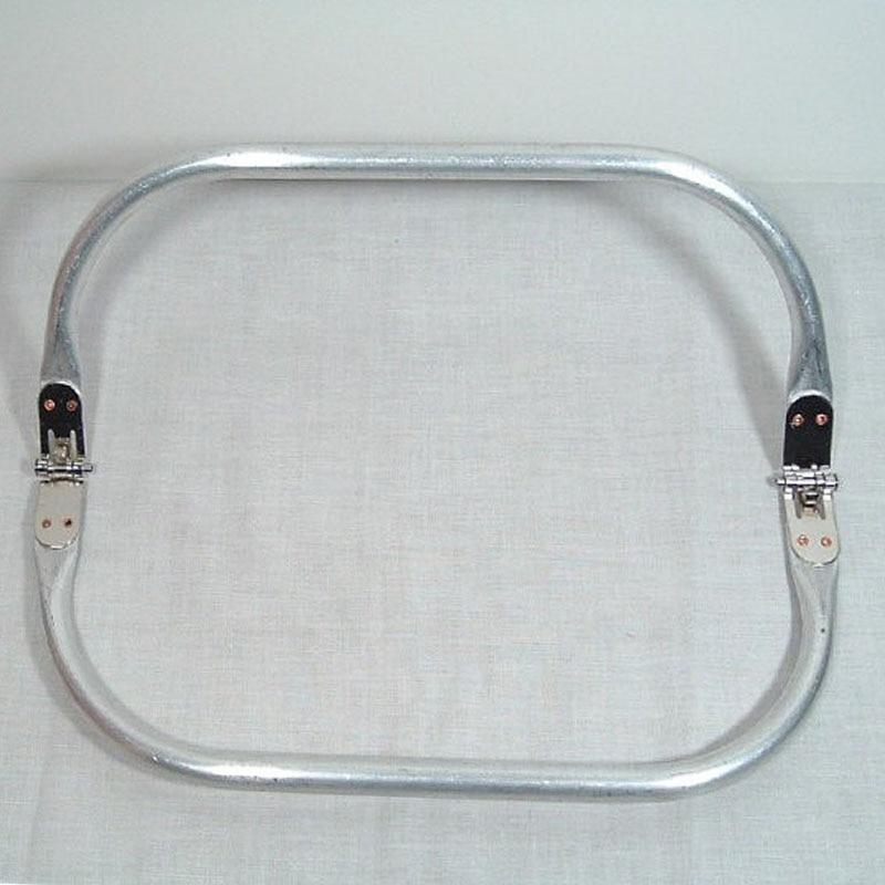 8 Inches Metal Tubular Internal Purse Frames Hinge