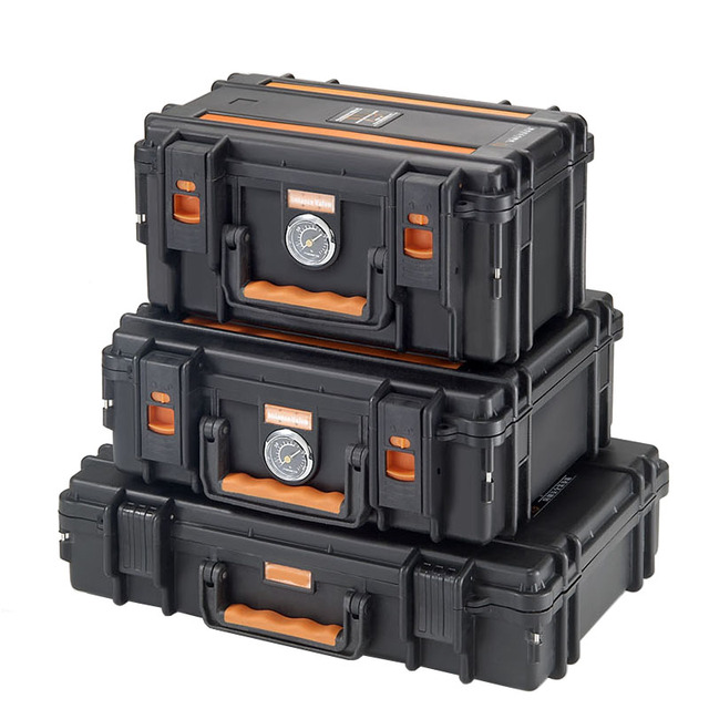 Portable tool case Photographic equipment Drying oven Safety box Lens storage box Moistureproof case With pre-cut sponge