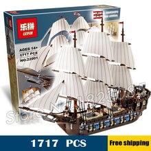 1717 pcs Nouveau 22001 Pirates des Caraïbes Impériale Phare DIY Modèle Blocs de Construction Grand Jouets Compatible avec Lego
