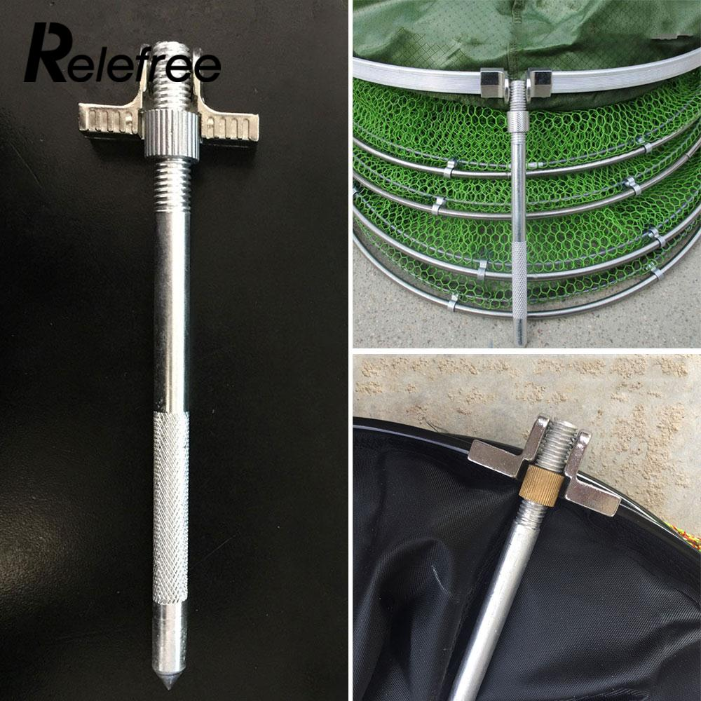 Durable Cage Fishing Net Fitting Metal Rocker Supplies Stainless Steel Reinforcement Accessories