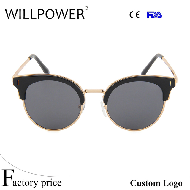 c562b0bc49949e 2017 pas cher de haute qualité en métal personnalisé italie conception  lentille en verre lunettes de