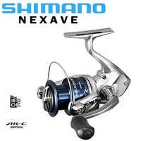 SHIMANO NEXAVE Fishing Reel 5.0:1/5.2:1/5.8:1/6.2:1 3+1BB 1000-C5000HG Spinning Fishing Reel AR-C Spool Seawater/Freshwater