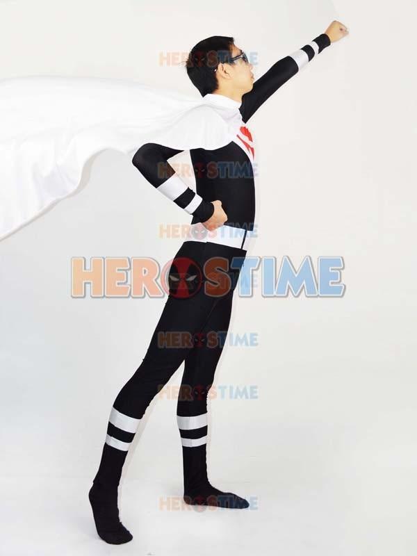 Սև և սպիտակ Գերմարդի զգեստների - Կարնավալային հագուստները - Լուսանկար 3