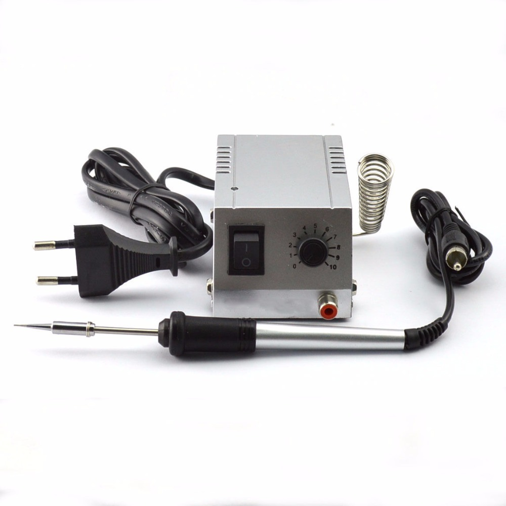 ФОТО BK-938 220V Solder Station Welding Equipment Electric Soldering iron Repair tool