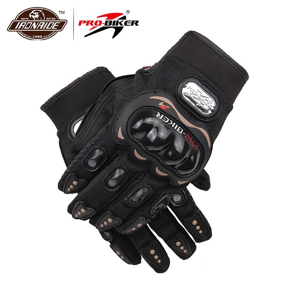 PRO-BIKER Motorrad Handschuhe Airsoft Paintball Reiten Racing Tactical Handschuhe Schutz Getriebe Radfahren Motocross Handschuhe MCS-01C