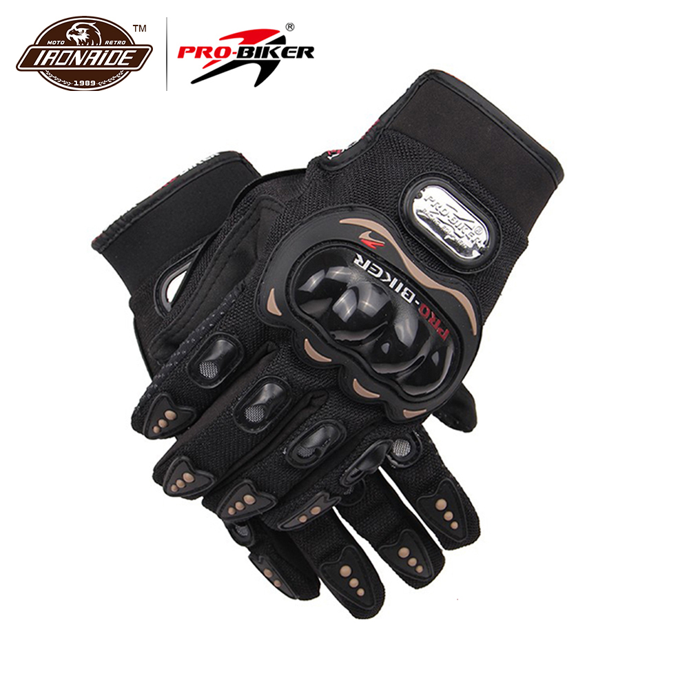 PRO-BIKER Motorcycle Gloves Airsoft Paintball Riding Racing Tactical Gloves Protective Gear Cycling Motocross Gloves MCS-01C