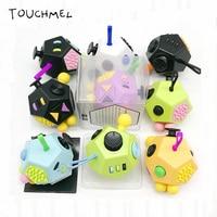 Newest Fidget Cube 2 Anti Stress Wheel Fidget Spinner Toy Magic Cube 9 Color In Stock