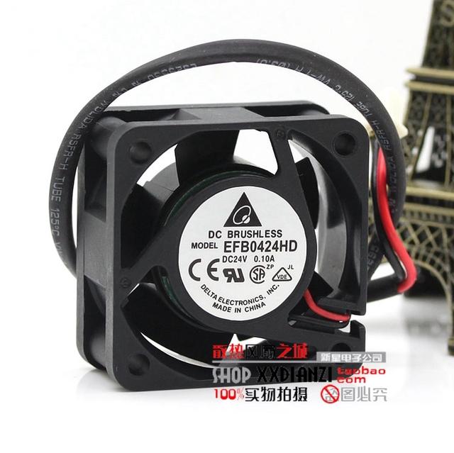 EFB0424HD 4020 0.1A 4 CM 24 V inversor dupla bola ventilador de refrigeração
