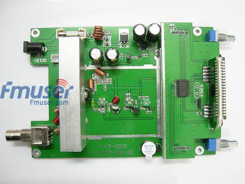 лучшая цена 2pcs/lot 15w fm transmitter PLL lcd Radio Stereo MIC 88-108mhz Board PCB RV1.1