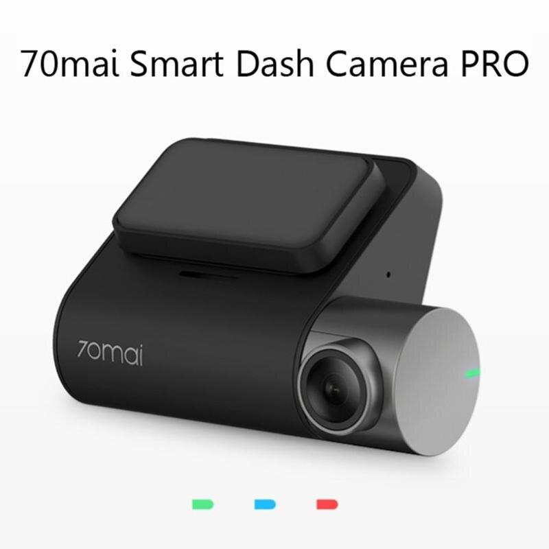 XIAOMI 70 MAI Pro voiture intelligente DVR enregistreur de commande vocale moniteur caméra de tableau de bord